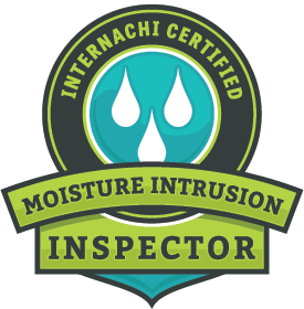 Internachi moisture intrusion inspector